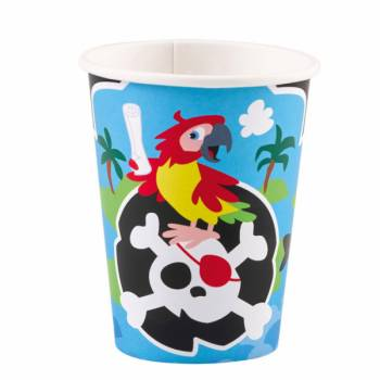 8 Gobelets Pirate