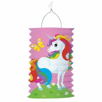 Lanterne en papier Licorne