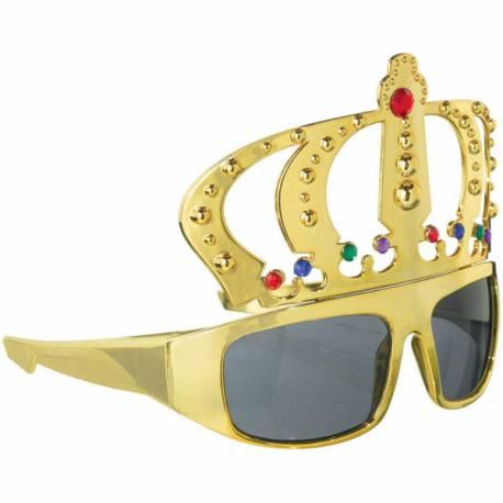 Superbe lunette King goldtrés originale pour accessoiriser un déguisement et également idéal pour un photobooth
