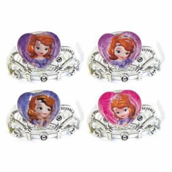 4 mini diademes Princesse Sofia