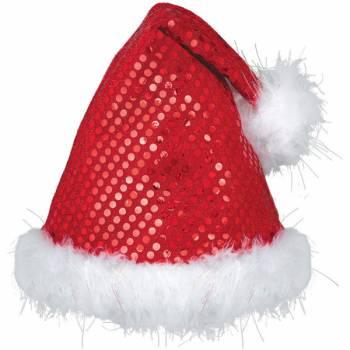 Bonnet de Noël sequins