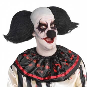 Perruque de clown effrayant homme