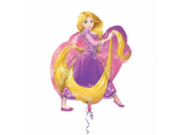 Ballon hélium Raiponce