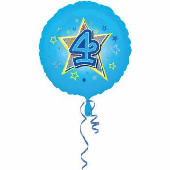 Ballon bleu 4 ans