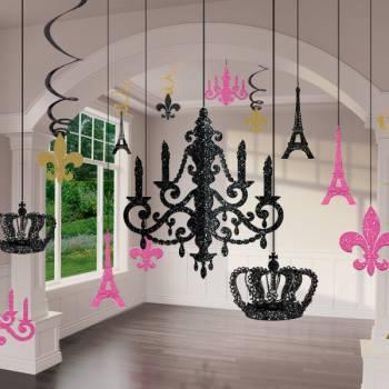 Kit suspensions chandelier Paris 18 pièces