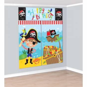Décoration murale Little Pirate