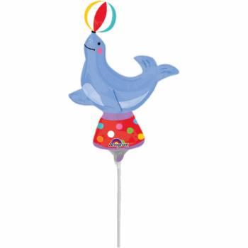 Mini ballon hélium otarie cirque