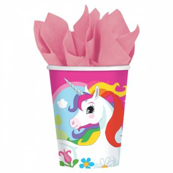 8 Gobelets Licorne Color