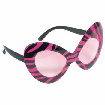 Lunette originale Diva zebra pink