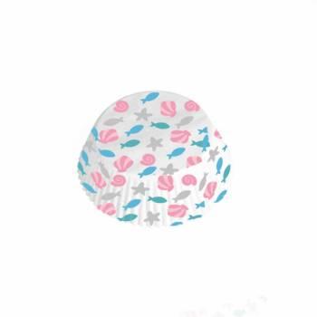 48 Caissettes à cupcakes Jolie sirène