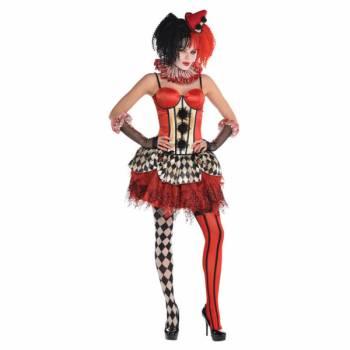 Corset Clown Halloween S/M