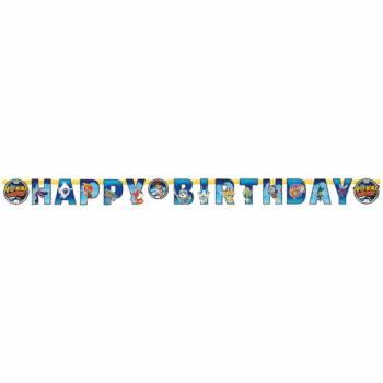 Banderole Happy Birthday Yo kai watch