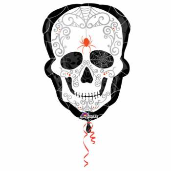 Ballon géant en aluminium Santa Muerte