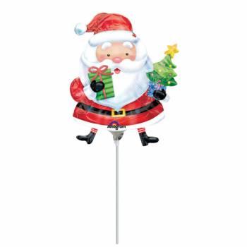 Mini ballon hélium Père Noël