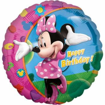 Ballon Géant Happy birthday Minnie
