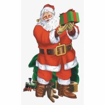 Décor géant Père Noël