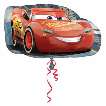 Ballon Hélium Cars flash Mcqueen