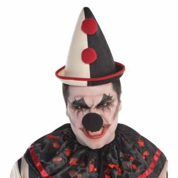 Chapeau de clown effrayant