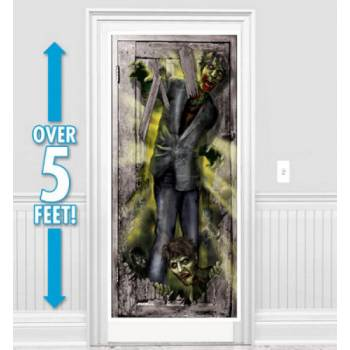 Décor de porte zombies