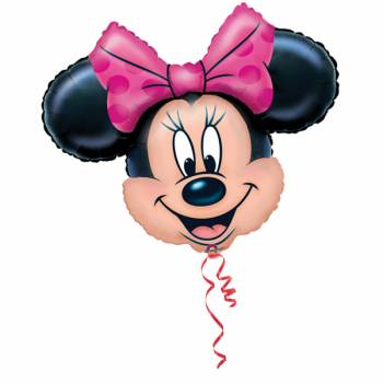 Mini Ballon Minnie gonflé