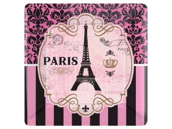 Assiettes en carton Paris