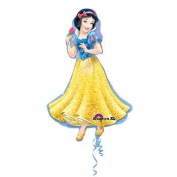 Ballon géant hélium Princesse Blanche Neige