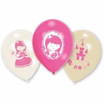 6 ballons My princesse