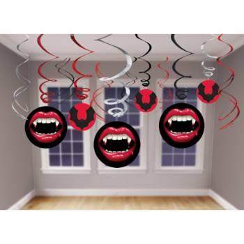 6 suspensions thème Dracula