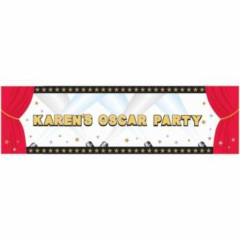 Bannière Hollywood personnalisable