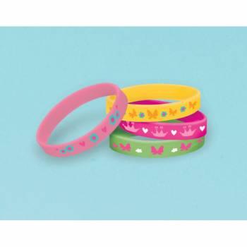 4 Bracelets Princesse des bois