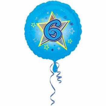 Ballon bleu 6 ans