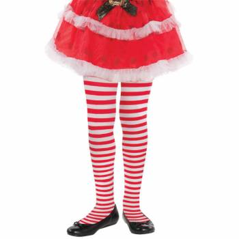 Collant enfant Candy stripes taille unique