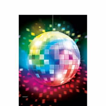 Nappe en plastique Disco 70's