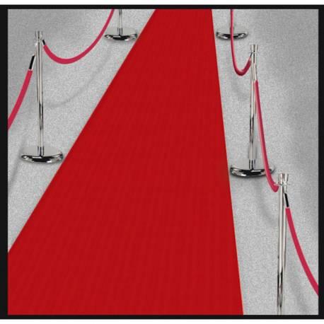 Rouleau de tissus non tissé pour donner l'effet tapis rouge de cinéma pour un anniversaire ou une soirée sur le thème du...
