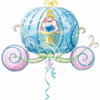 Ballon géant carosse Cendrillon