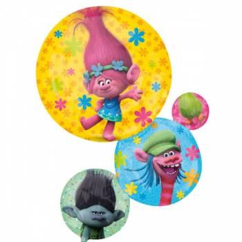 Ballon hélium géant Trolls