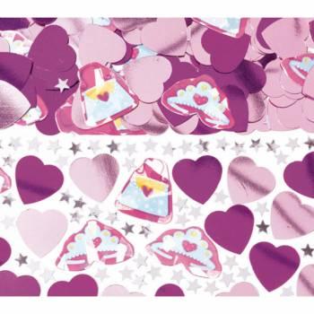 Confettis metallic Princesse Fashion