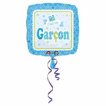 Ballon hélium C'est un garçon
