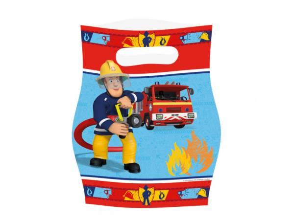 sachet de f te sam le pompier deco anniversaire. Black Bedroom Furniture Sets. Home Design Ideas