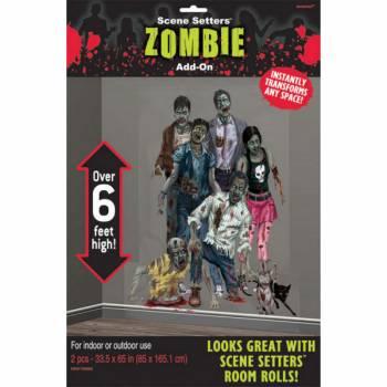 Décor mural Famille Zombie