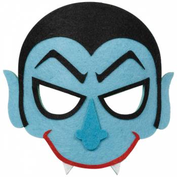 Masque en feutrine Vampire