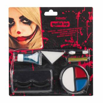 Set maquillage complet Clown effrayant