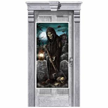 Décor de porte La Mort
