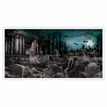 Décor mural cimetière
