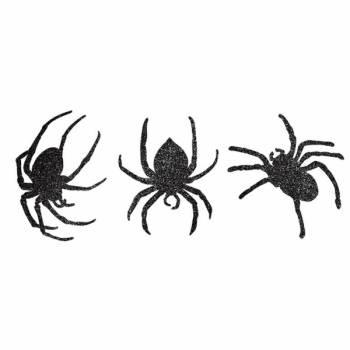 9 Araignée carton glitter