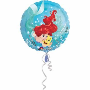 Ballon hélium Ariel et polochon