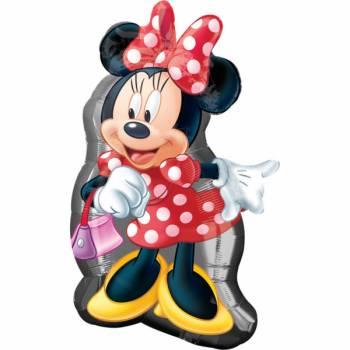 Ballon géant Minnie joyeuse