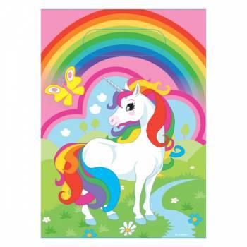 8 Sachets de fête Licorne rainbow