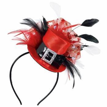 Serre tête Mini chapeau de Noël
