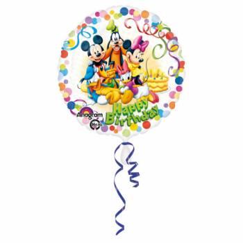 Ballon Hélium Mickey Happy Birthday